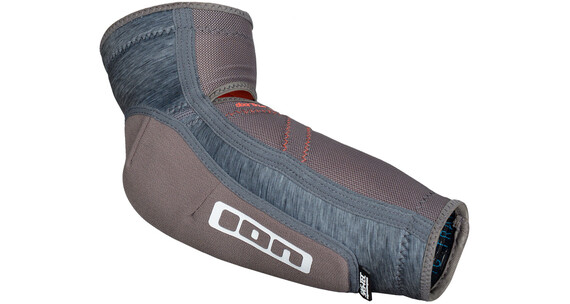 ION E_Lite Elbow Guards grey melange